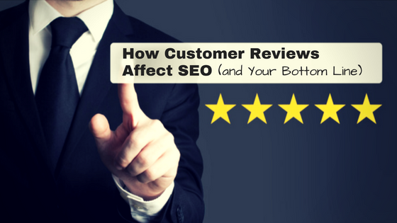 Blog post: How customer reviews affect SEO