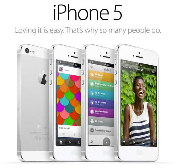 Image design tips example iPhone 5